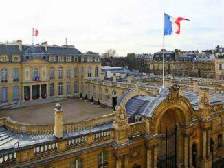 Елисейский дворец в Париже.