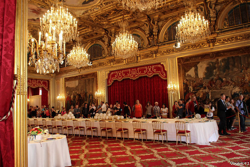 Обед в Елисейском дворце