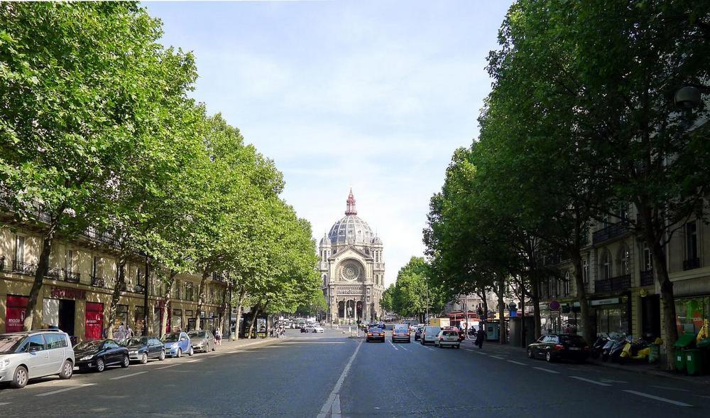 Большие бульвары в Париже.