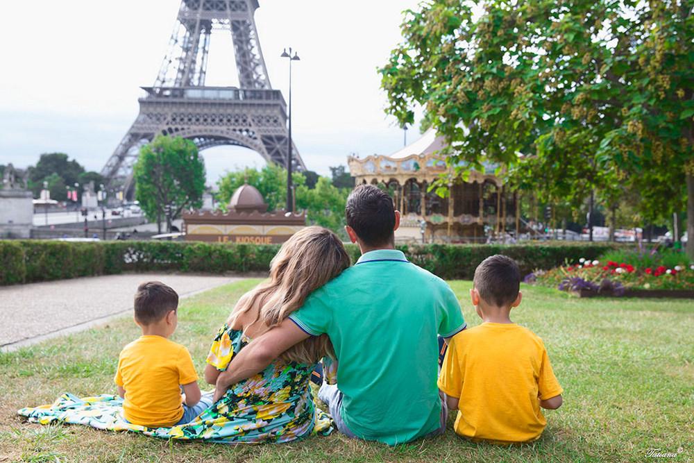Семейный отдых в Париже