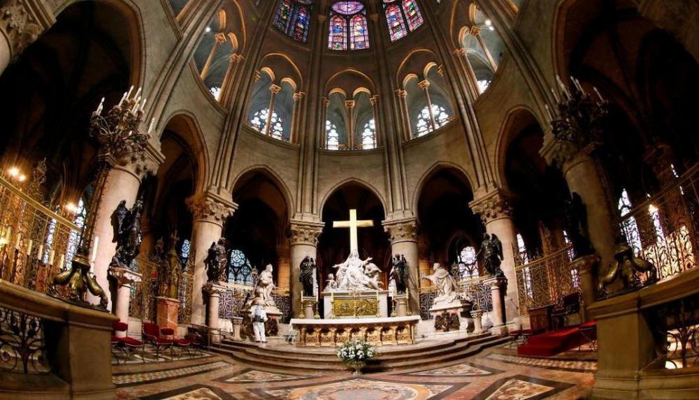 Собор Парижской Богоматери - интерьеры