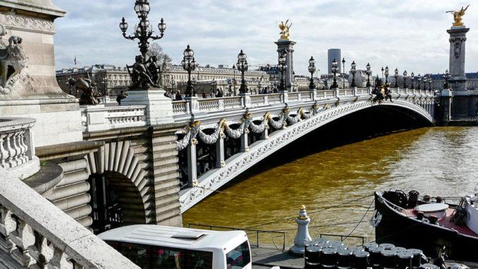 Мосты Парижа - мост Александра III