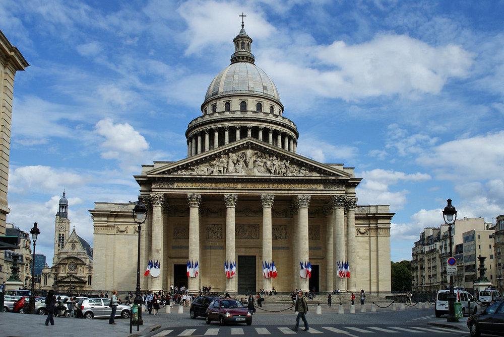 Пантеон - главные достопримечательности Парижа.