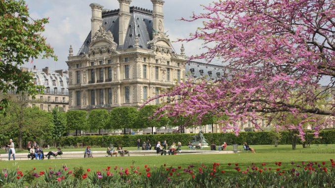 Сад Тюильри - главные достопримечательности Парижа