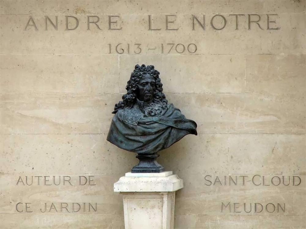 Андре Ле Нотр - основоположник французского садово-паркового искусства.