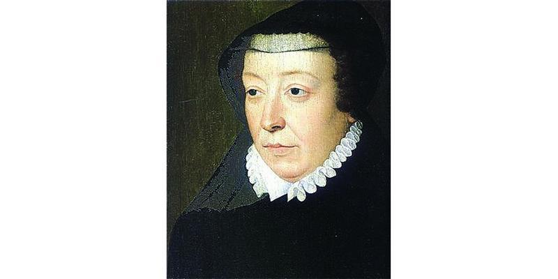 Королева Екатерина Медичи.