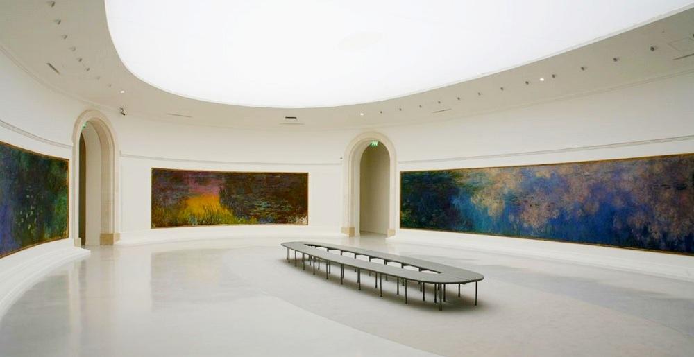 Музей Оранжери - Водяные лилии Клода Моне - Главные достопримечательности Парижа.