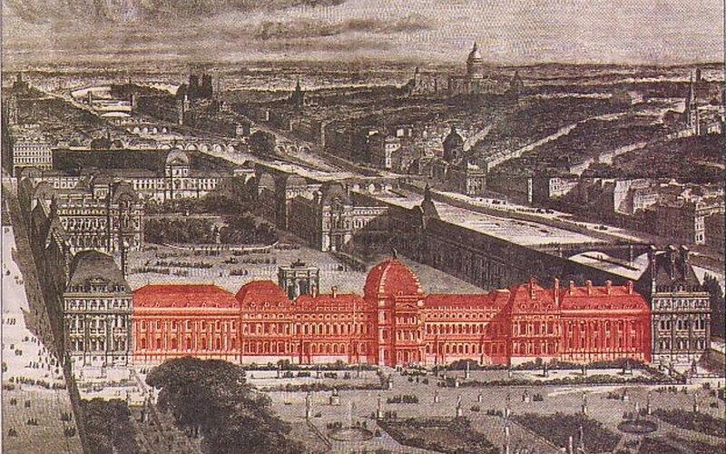 Дворец Тюильри в Париже