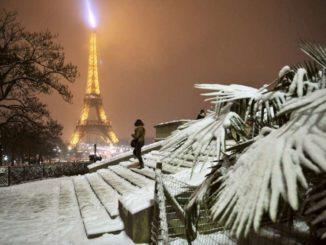 Париж в январе - Погода в Париже в январе