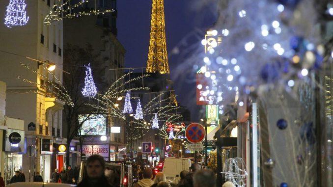 Париж в декабре