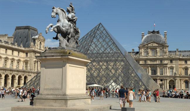 Лувр, Париж - экскурсия в ЛУВР.
