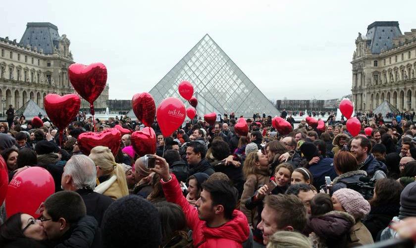Париж в феврале