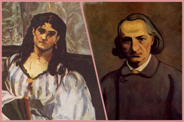 Жанна Дюваль и Шарль Бодлер
