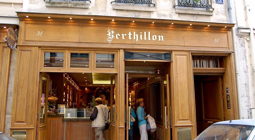Мороженое Бертийон в Париже