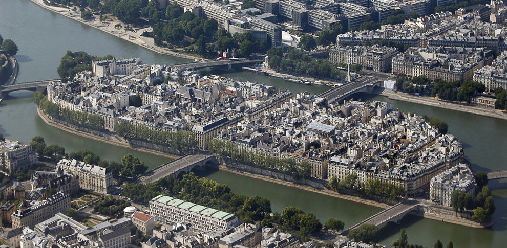 Остров Святого Людовика - Сен-Луи в Париже